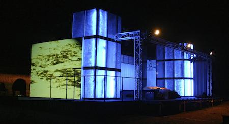 Bühne Gedächtnis des Wassers 2007